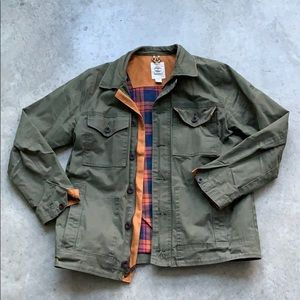 Timberland Military Green Canvas Men's Jacket